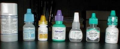 青光眼有哪几种常用眼药水?